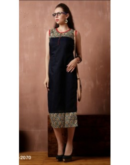 Office Wear Readymade Cotton Kurti - Darpan2070